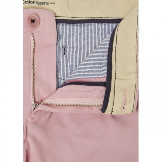 Stretch Chino Shorts Orchid PInk Bouton