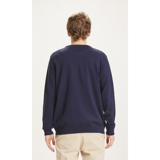 Forrest O-neck Merino Wool Total Eclipse dos