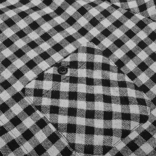Small Checks Shirt 1925 Black Poche