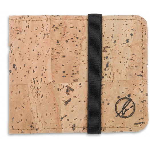 Cork Mini Wallet 208a Natural Cork