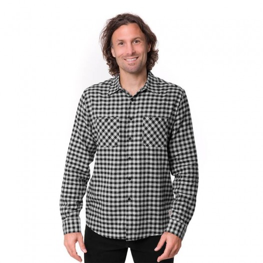 Small Checks Shirt 1925 Black Modèle