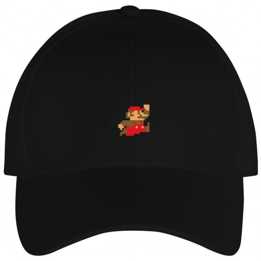 Sport Cap Super Mario Black