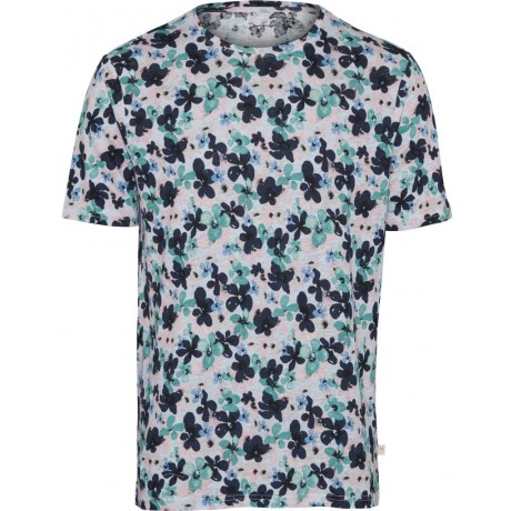 With All Over Waterbased Flower Print Skyway