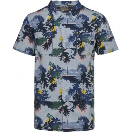 Palm Sea All Over Printed 663 Shirt Skyway
