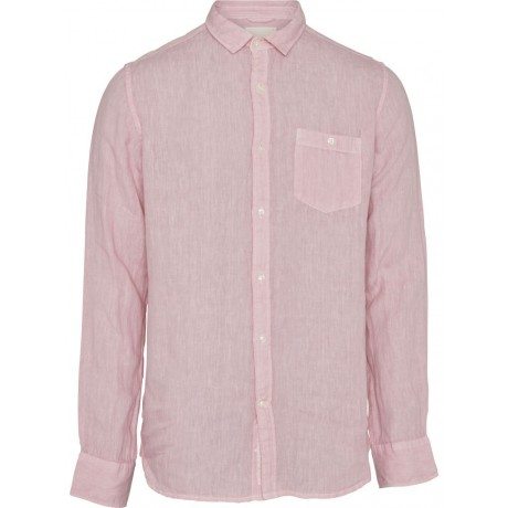 Fabric Dyed Linen Pink Nectar