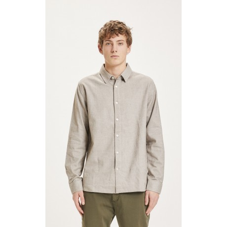 Larch Casual Fit Heavy Flannel Friar Brown