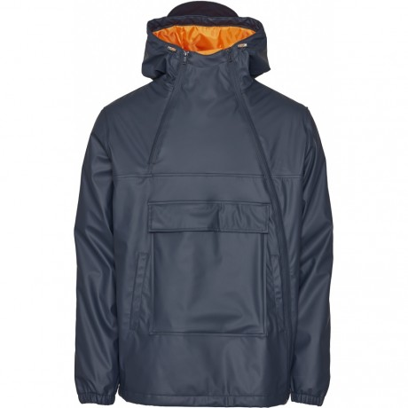 Functional Anorak in Recycled Polyester Total Eclipse
