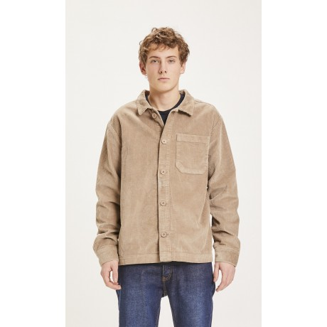 Pine Stretched 8-wales Corduroy Overshirt Tuffet  face