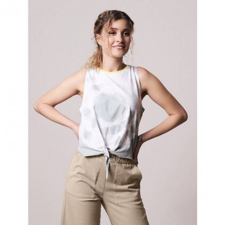 Twiscrop Top 2062f Offwhite