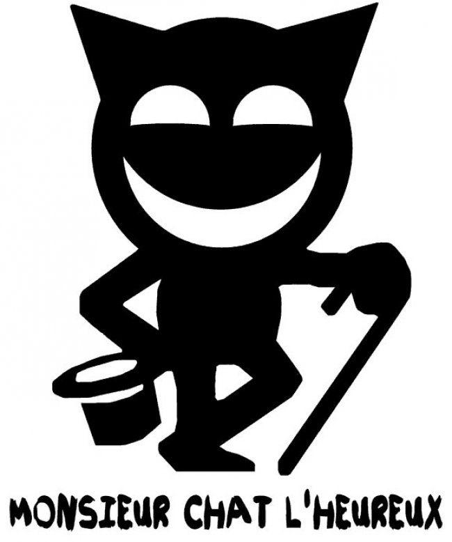 Monsieur Chat l'heureux